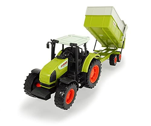 Dickie Toys CLAAS Ares Set, großer Traktor mit Anhänger und...