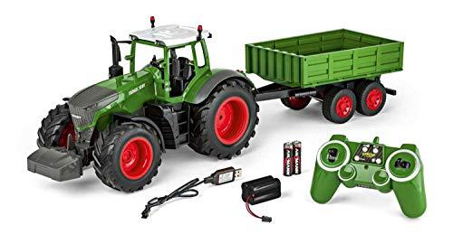 Carson 500907314 - 1:16 RC Traktor mit Anhänger 100%...