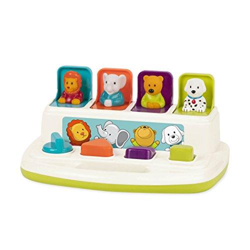 Battat BT2531Z Baby Spielzeug – Pop Up Lernspielzeug...