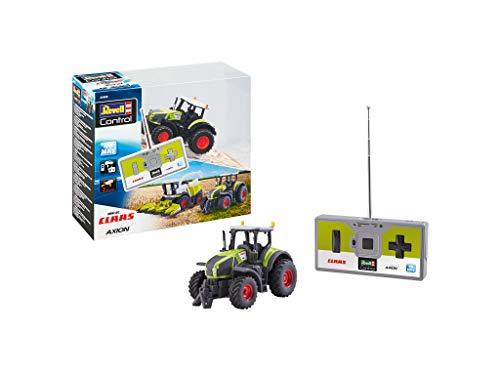 Revell Control 23488 Mini RC Traktor Claas Axion 960, 40 MHz Fernsteuerung mit Ladefunktion ferngesteuertes...