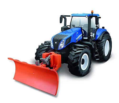 Maisto Tech R/C New Holland Traktor T8.320 mit Schneeschieber:...