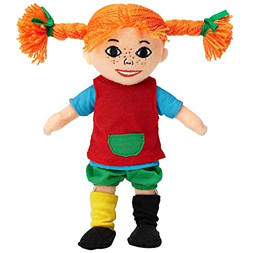 Micki & Friends Pippi Langstrumpf Puppe, 20cm – süße Stoffpuppe...