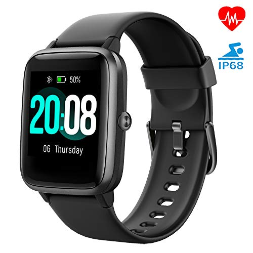 Smartwatch, LIFEBEE Fitness Armband Fitness Tracker Voller Touch Screen Smart Watch IP68 Wasserdicht Fitness...