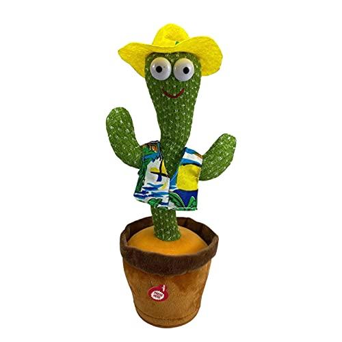 WUMOFIF Tanzendes Kaktus-Spielzeug Kaktus Plüschtier Plüsch-Puppe...