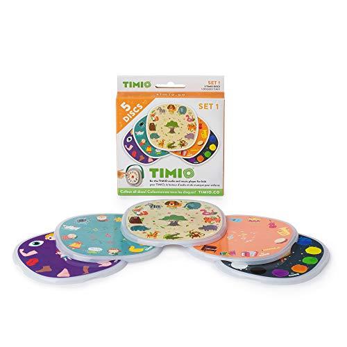 TIMIO TMD-01 Disc Set mit 5 Discs, interaktiven Musikplayer für...