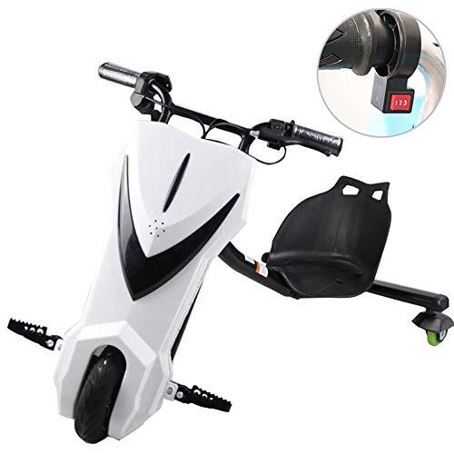 Electric Scooter Elektrische Drift-Trikes Trike Aufsitzspielzeug Für Kinder Mit Coolen LED-Scheinwerfern...
