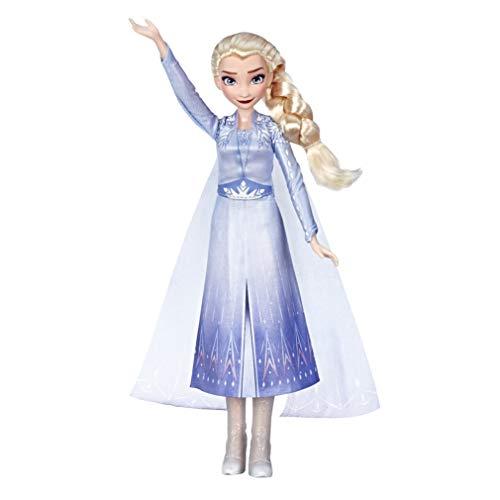 Hasbro Disney Die Eiskönigin Singende Elsa Puppe mit Musik in blauem Kleid zu Disneys Die Eiskönigin 2,...