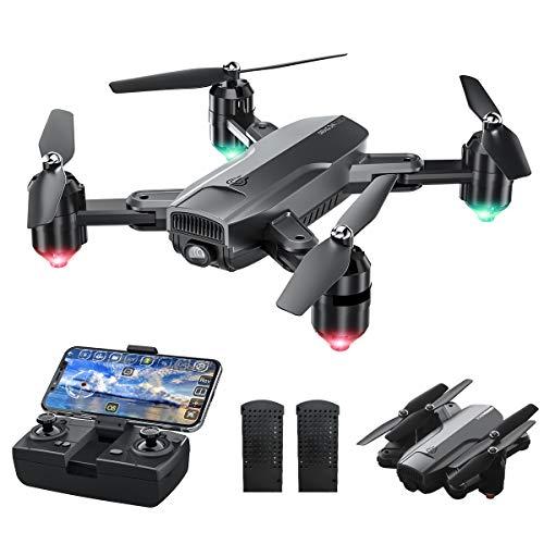 Dragon Touch Drohne mit Kamera 1080P HD, 120° Weitwinkel haltbar RC...