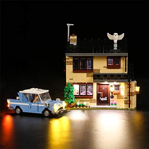 Mecotecn LED Beleuchtung Zubehör für Lego Harry Potter Ligusterweg 4...