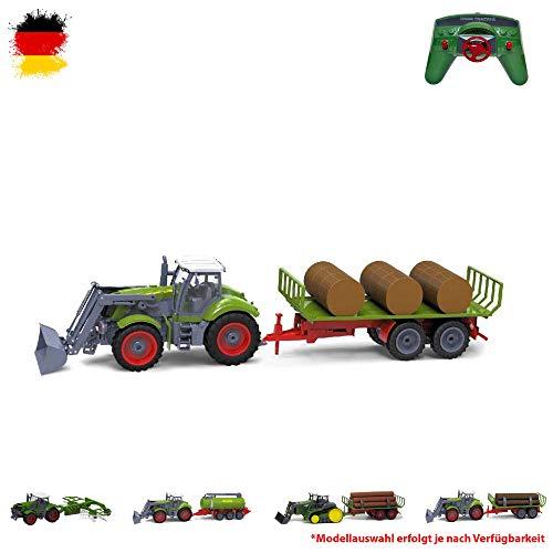 HSP Himoto XXL RC Ferngesteuerter Traktor mit Anhänger, Farmer Bauernhof Fahrzeug Transporter inkl....