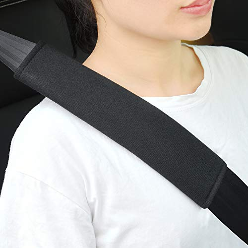 2 Stück Gurtpolster Auto Kinder, Sicherheitsgurt Bügel Gurtschutz,...