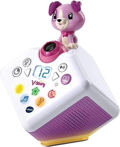 Vtech 80-608064 V-Story, die Hörspielbox pink, Musik-und...