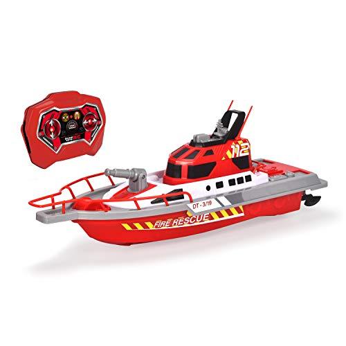 Dickie Toys 201107000 Feuerwehrboot, ferngesteuertes...