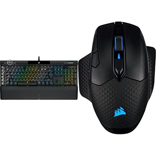 Corsair K100 RGB Mechanische Gaming-Tastatur (Cherry MX Speed: Schnell...