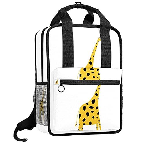 KAMEARI Rucksack College Bookbags Schultertasche Bookbags Giraffe Tier