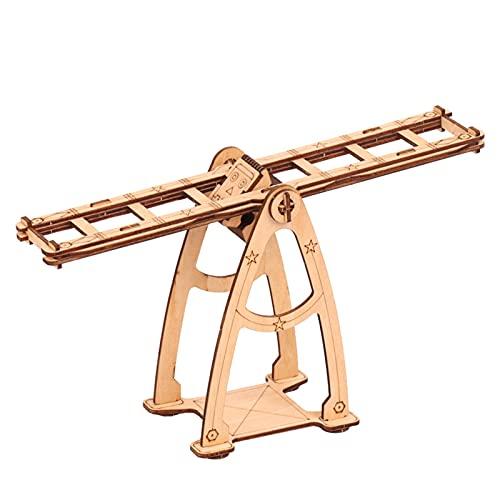 Schaukelspielzeug aus Holz, Gleichgewichts-Roboter, Pendel,...
