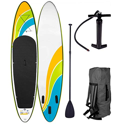 BRAST SUP Board Stand up Paddle Paddling Happiness 320x76x15cm...
