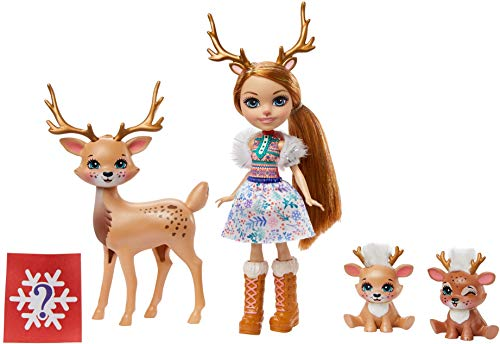Enchantimals GNP17 - Enchantimals Familien Spielset, Rainey Reindeer...