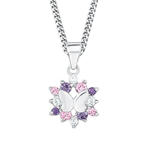 Prinzessin Lillifee Kette mit Schmetterling Anhänger für Mädchen,...