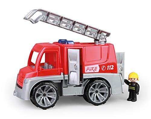 Lena 04457 TRUXX Feuerwehr Einsatzfahrzeug mit Spielfigur als...