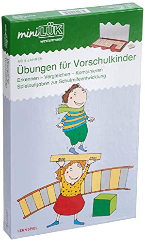 miniLÜK-Sets: miniLÜK-Set: Kindergarten/Vorschule: Übungen für...