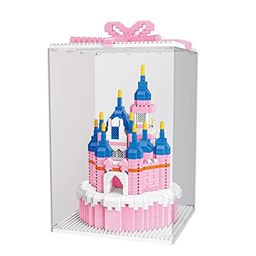 GUDA Cake Castle Modell Bausatz,1264 Teile Klemmbausteine Cake Castle...