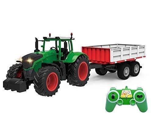 s-idee® S354 RC Traktor mit Anhänger 1:16 mit 2,4 GHz ferngesteuert...
