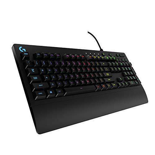 Logitech G213 Prodigy Gaming-Tastatur, RGB-Beleuchtung,...