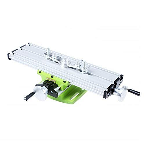 310mm x 90mm Mini-Fräsmaschine, Multifunktion Kreuztisch Frästisch...