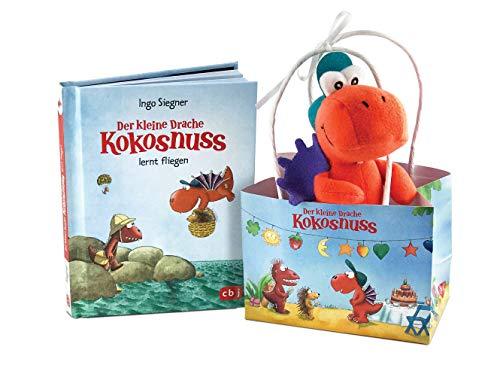 Der kleine Drache Kokosnuss - Geschenktüte: Set: Ein Buch und ein Filz-Drachen