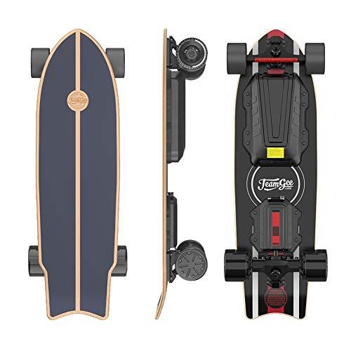 Teamgee H20 Mini Elektro Skateboard 80cm mit Drahtloser Bluetooth...