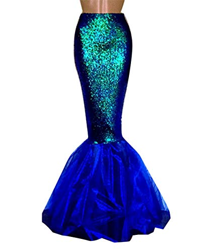 Loalirando Damen Meerjungfrau Kostüm Halloween Mermaid...
