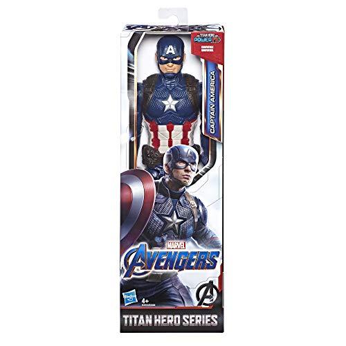 Avengers Endgame Titan Hero Captain America, 30 cm große Actionfigur