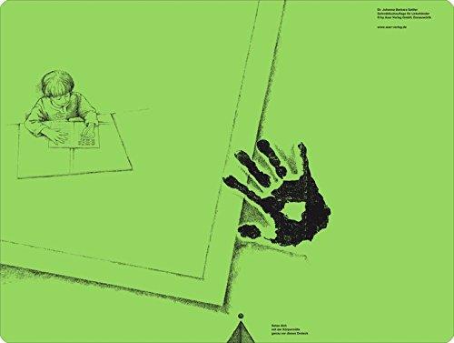Schreibtischauflage für Linkshänder Pinie-Grün: Alle Klassenstufen... *