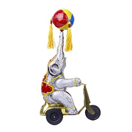 lahomia Modell Elefant Fahrrad Ball Spiele Frühling Spielzeug...