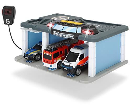 Dickie Toys SOS Rettungsstation mit Polizei, Feuerwehr und...