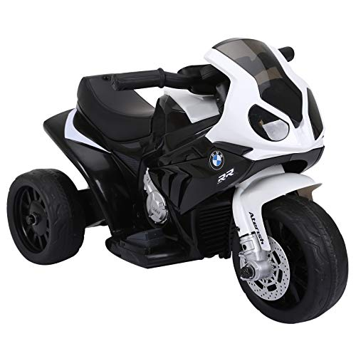 HOMCOM Elektro Kindermotorrad Kinderfahrzeug Lizensiert von BMW...