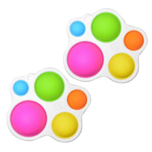 Sensorisches Spielzeug mit verschiedenen Texturen, Farben Spielzeug für Babys, Spielzeug und Geschenke für...