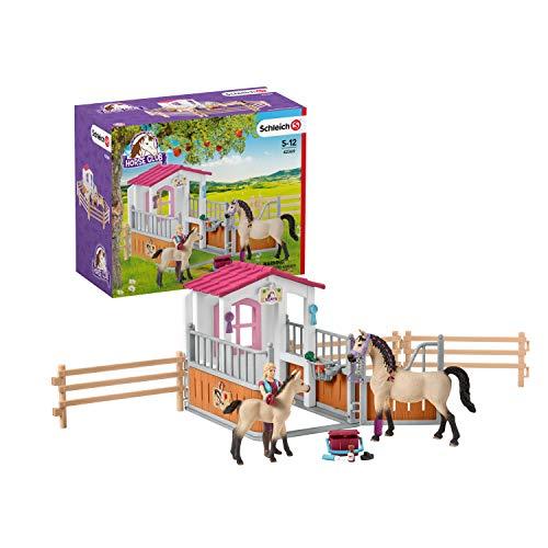 Schleich 42369 Horse Club Spielset - Pferdebox mit...