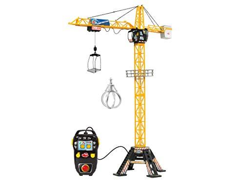 DICKIE 201139012 Toys Mega Crane, elektrischer Kran mit Fernbedienung,...