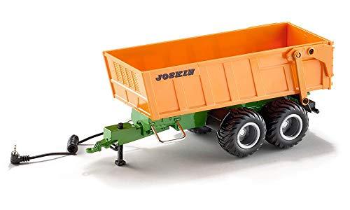 SIKU 6780, Tandem-Achs-Anhänger, 1:32, Fernsteuerbar, Für SIKU CONTROL Fahrzeuge mit Anhängerkupplung,...