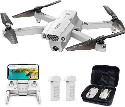 Tomzon Faltbare GPS Drohne mit 4K UHD Kamera, FPV Drohne,195g,RC...