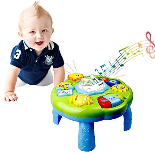 LOVOICE Baby Spieltisch Musikspielzeug Spiel Lerntisch Activity...