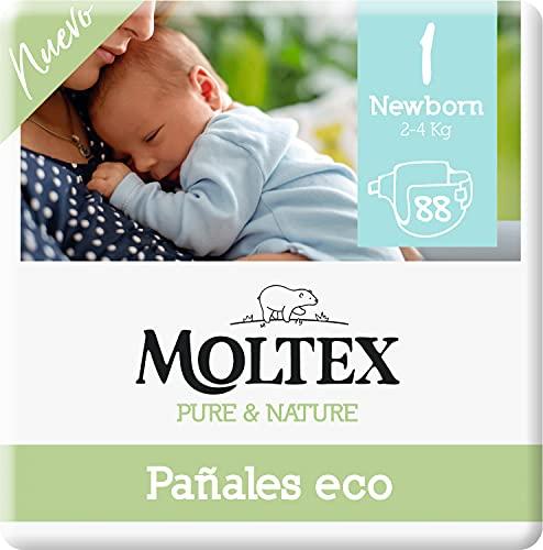 Moltex Pure & Nature Ökologische Windeln Größe 1...
