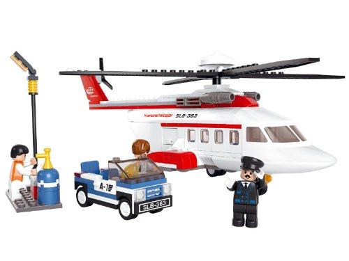 Sluban Klemmbausteine Sluban SL95223, Privat-Hubschrauber (259 Teile)...