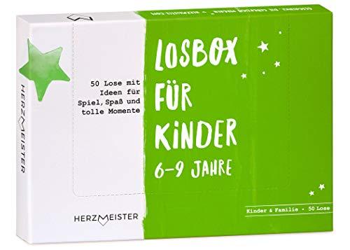 NEU: Losbox für Kinder 6 – 9 Jahre I Das Geschenk für Mädchen und...