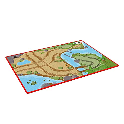 Schleich 42477 Wild Life Spielset - Spielteppich Wild Life, Spielzeug...