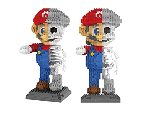 Super Mario Dissection Skeleton Figure 3D Modell...