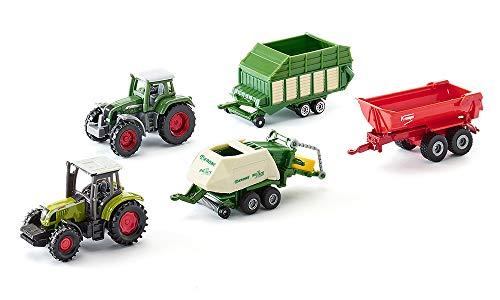 SIKU 6286, Geschenkset 7 - Landwirtschaft, Metall/Kunststoff,...