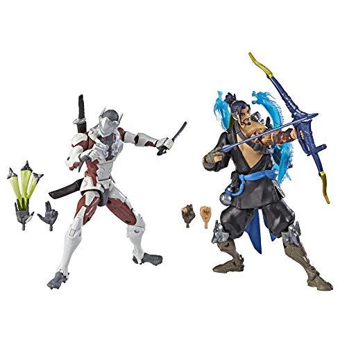 Overwatch Ultimates Series Hanzo und Genji Doppelpack 15 cm große...